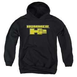 Hummer - Youth H2 Block Logo Pullover Hoodie