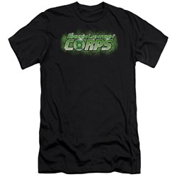 Green Lantern - Mens Gl Corps Title Slim Fit T-Shirt