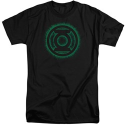 Green Lantern - Mens Green Flame Logo Tall T-Shirt