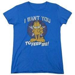 Garfield - Womens I Want You T-Shirt