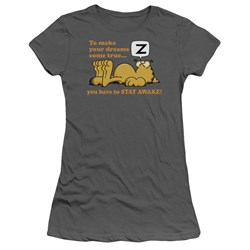 Garfield - Juniors Stay Awake T-Shirt