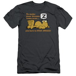 Garfield - Mens Stay Awake Slim Fit T-Shirt