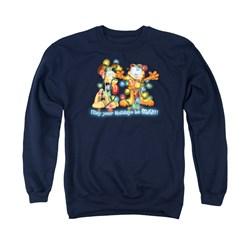 Garfield - Mens Bright Holidays Sweater