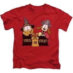 Garfield - Little Boys Trick Or Treat T-Shirt