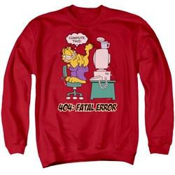 Garfield - Mens Compute This Sweater