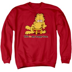 Garfield - Mens Happy Face Sweater