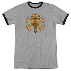 Garfield - Mens Ow Ringer T-Shirt