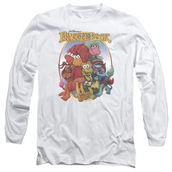 Fraggle Rock - Mens Group Hug Long Sleeve T-Shirt
