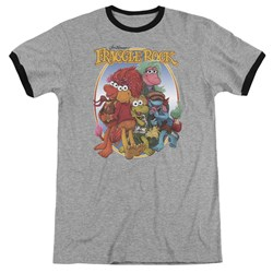 Fraggle Rock - Mens Group Hug Ringer T-Shirt