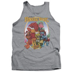 Fraggle Rock - Mens Group Hug Tank Top