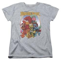 Fraggle Rock - Womens Group Hug T-Shirt