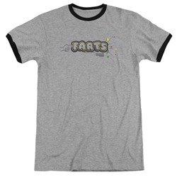 Farts Candy - Mens Finger Logo Ringer T-Shirt