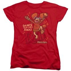 Fraggle Rock - Womens Dance T-Shirt