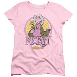 Fraggle Rock - Womens Mokey Circle T-Shirt