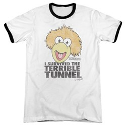 Fraggle Rock - Mens Terrible Tunnel Ringer T-Shirt