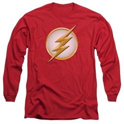 Flash - Mens New Logo Long Sleeve T-Shirt