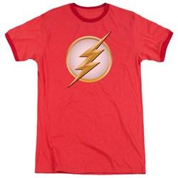 Flash - Mens New Logo Ringer T-Shirt