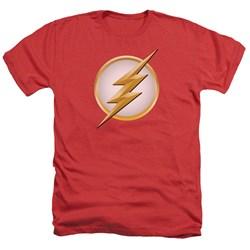 Flash - Mens New Logo Heather T-Shirt