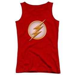 Flash - Juniors New Logo Tank Top