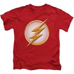 Flash - Little Boys New Logo T-Shirt