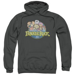 Fraggle Rock - Mens Circle Logo Pullover Hoodie