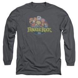 Fraggle Rock - Mens Circle Logo Long Sleeve T-Shirt