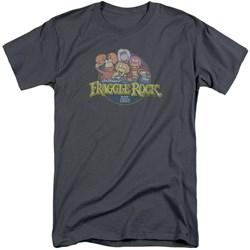 Fraggle Rock - Mens Circle Logo Tall T-Shirt