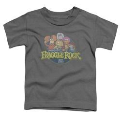 Fraggle Rock - Toddlers Circle Logo T-Shirt