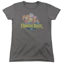 Fraggle Rock - Womens Circle Logo T-Shirt