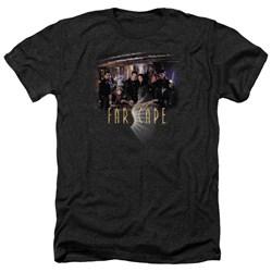 Farscape - Mens Cast Heather T-Shirt