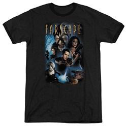 Farscape - Mens Comic Cover Ringer T-Shirt