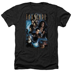 Farscape - Mens Comic Cover Heather T-Shirt