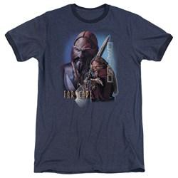 Farscape - Mens D'Argo Ringer T-Shirt