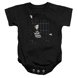 Elvis - Toddler Blue Bars Onesie