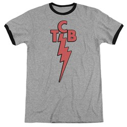 Elvis - Mens Tcb Ringer T-Shirt