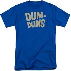 Dum Dums - Mens Distressed Logo Tall T-Shirt