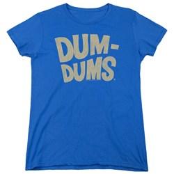 Dum Dums - Womens Distressed Logo T-Shirt