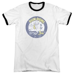 Dum Dums - Mens Pop Parade Ringer T-Shirt