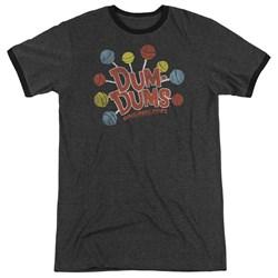 Dum Dums - Mens Original Pops Ringer T-Shirt