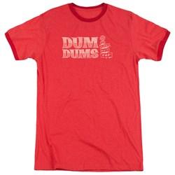 Dum Dums - Mens World'S Best Ringer T-Shirt