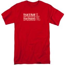 Dum Dums - Mens World'S Best Tall T-Shirt