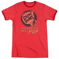 Dum Dums - Mens 5 For 5 Ringer T-Shirt