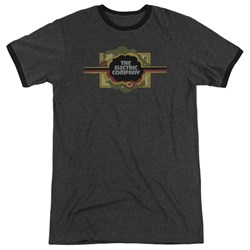 Electric Company - Mens Logo Ringer T-Shirt