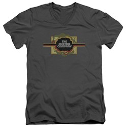 Electric Company - Mens Logo V-Neck T-Shirt