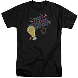 Electric Company - Mens Electric Light Tall T-Shirt