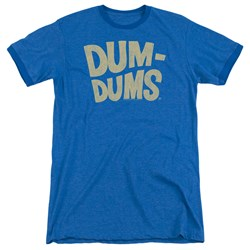 Dum Dums - Mens Distressed Logo Ringer T-Shirt