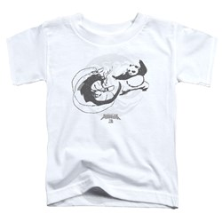 Kung Fu Panda - Toddlers Face Off T-Shirt