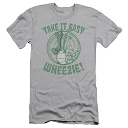 Dragon Tales - Mens Take It Easy Premium Slim Fit T-Shirt