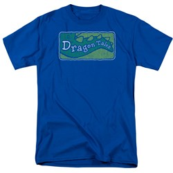 Dragon Tales - Mens Logo Distressed T-Shirt