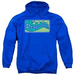 Dragon Tales - Mens Logo Clean Pullover Hoodie